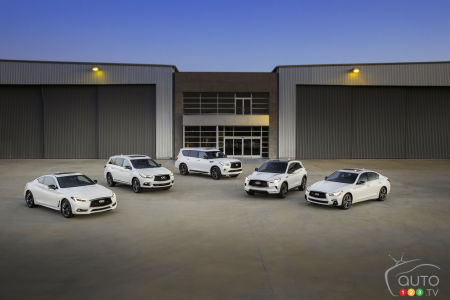 Five 30th Anniversary Editions From Infiniti