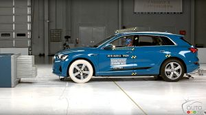 L'Audi e-tron 2019 reçoit la désignation Top Safety Pick+ de l'IIHS