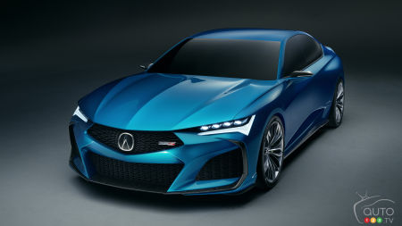 Acura Presents Type S Concept Ahead of Monterey Debut