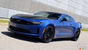 2019 Chevrolet Camaro 1LE review : Life Without a V8?