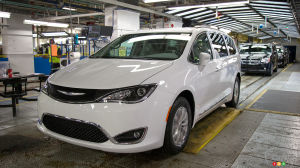 La Chrysler Pacifica à l'usine de Windsor