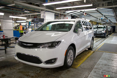 FCA Keeping Third Shift at Windsor Plant Until End of 2019