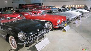 Corvettes at the GM Heritage Center