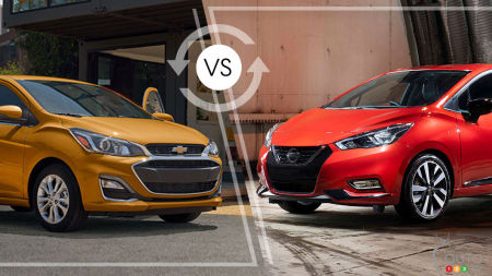 Comparison: 2019 Chevrolet Spark vs 2019 Nissan Micra