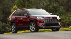 Toyota Canada is Recalling 3,896 2019 RAV4 SUVs