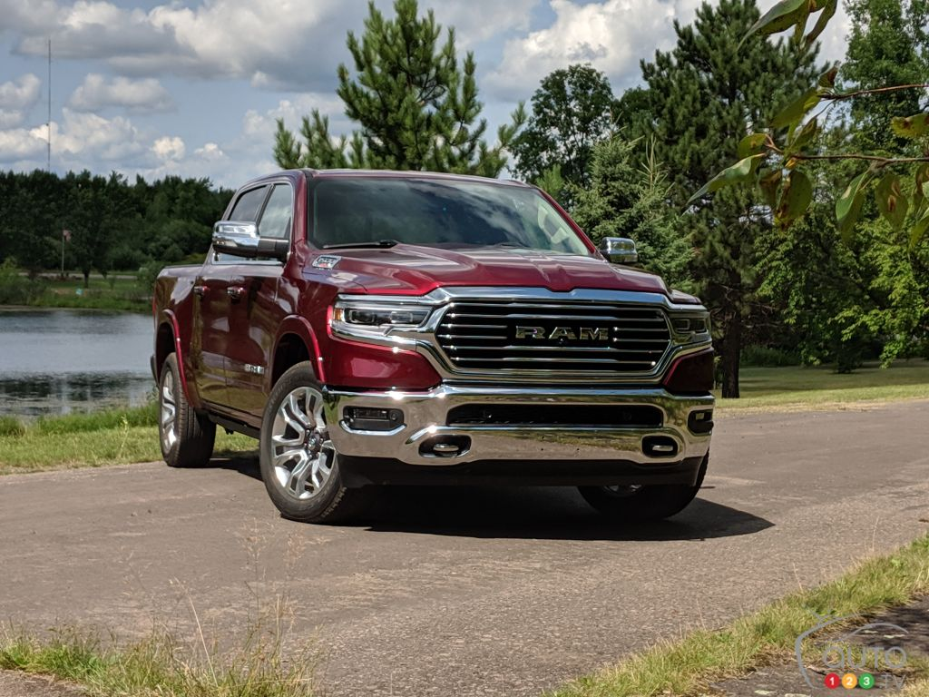 2020 RAM 1500 EcoDiesel First Drive : The Best of the Diesels