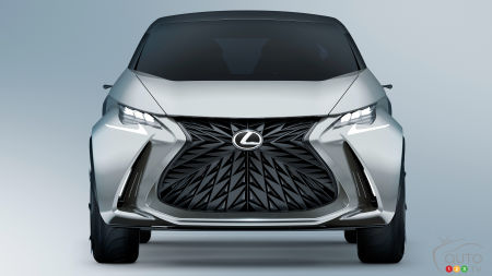 The First Electric Vehicle From Lexus to Debut at Tokyo Motor Show