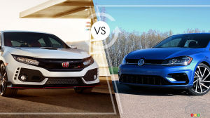 Comparaison : Honda Civic Type R 2019 vs Volkswagen Golf R 2019