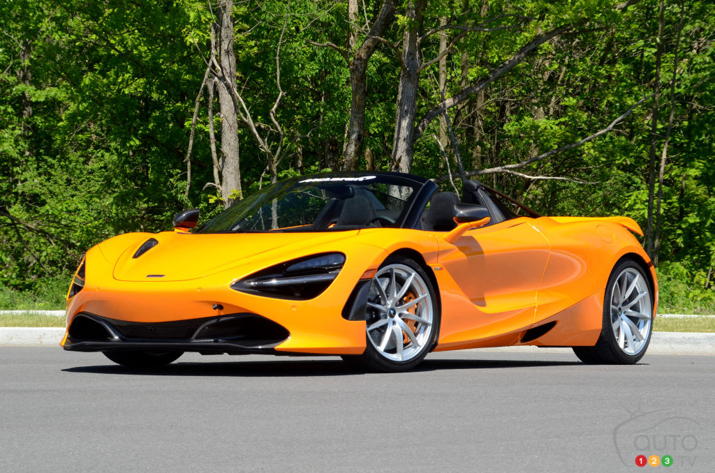 2020 McLaren 720S Performance Spider Review: Speed, Redefined