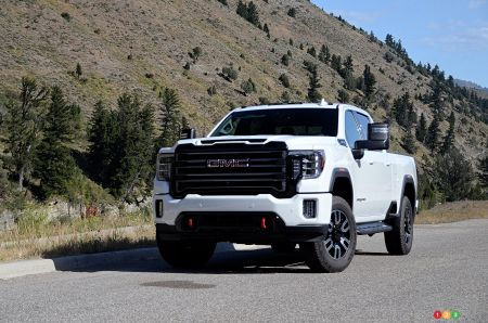 First Drive of the 2020 GMC Sierra HD AT4: For the Substance… and the Style