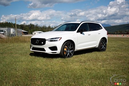 First Drive of the 2020 Volvo XC60 T8 Polestar Engineered: Summitting
