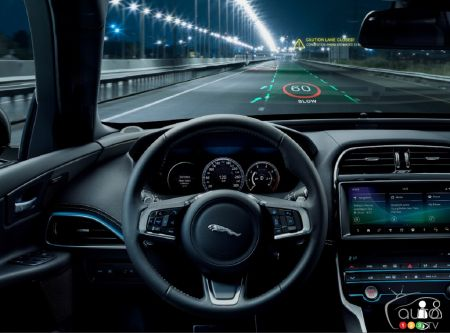 3D Head-Up Display in Works from Jaguar-Land Rover