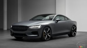 Production of the Polestar 1 Underway in China