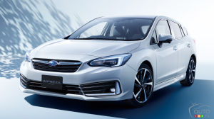 A Revised 2020 Subaru Impreza Presented in Japan
