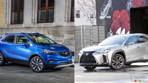Comparison: 2019 Buick Encore vs 2019 Lexus UX