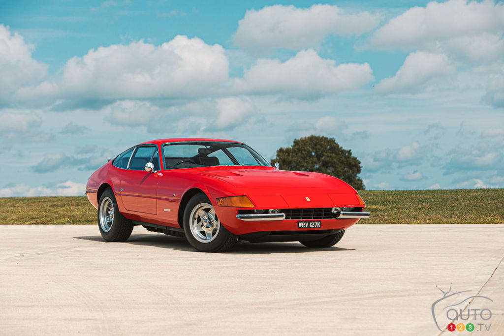 Sir Elton John's 1972 Ferrari is Going up for Auction