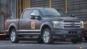 Ford's Electric F-150 Will Debut in 2021