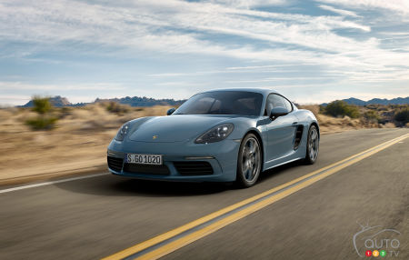 The 718 Cayman, the Next Porsche to Get Electrified?