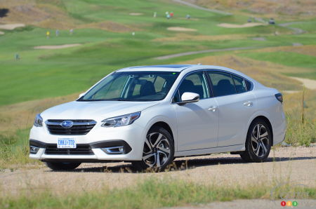 First drive of the 2020 Subaru Legacy   Car Reviews   Auto123