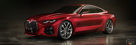 Frankfurt 2019: The BMW Concept 4, a Precursor to the Next 4 Series