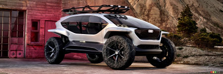 Frankfurt 2019: Audi Presents a Far-Out Off-Road Concept