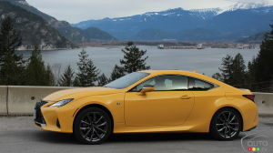 2019 Lexus RC 350 Review: The Fast and the Curious