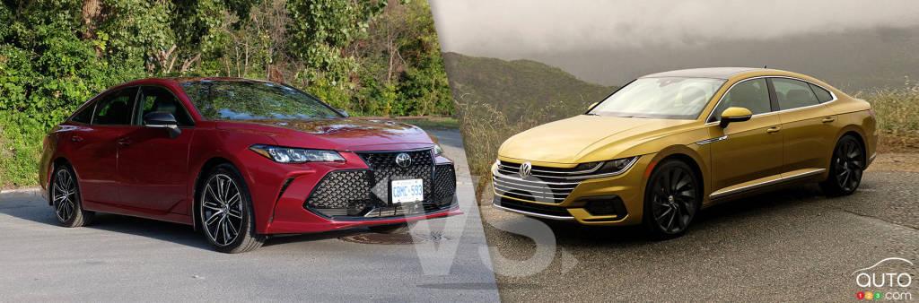 Comparison: 2019 Toyota Avalon vs 2019 Volkwagen Arteon