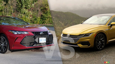 Comparison: 2019 Toyota Avalon vs 2019 Volkwagen Arteon