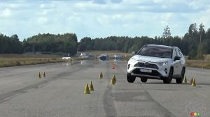 The Toyota RAV4 Fails Moose Test in Sweden