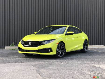 2019 Honda Civic Coupe Review : Still a Winning Formula