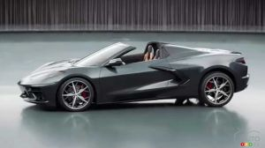 Chevrolet Corvette décapotable 2020
