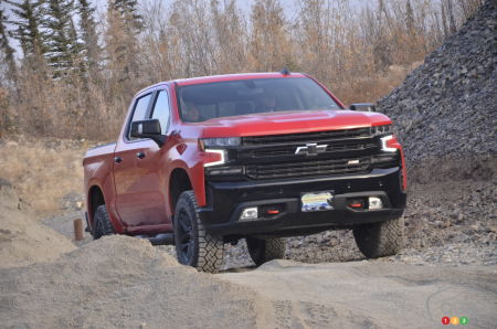 An extreme off-road version of the Chevy Silverado in the works?