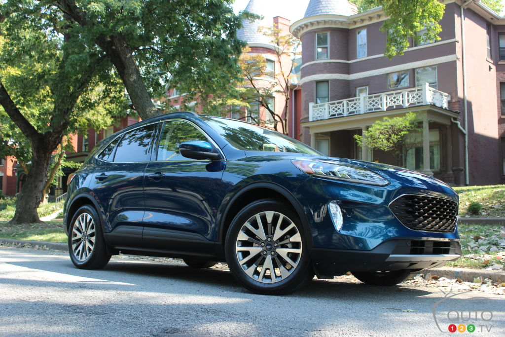 2020 Ford Escape Hybrid First Drive: Efficient and Roomy