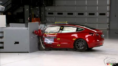 Safe? You Bet! Tesla Model 3 Earns IIHS' Top Safety Pick+ Rating