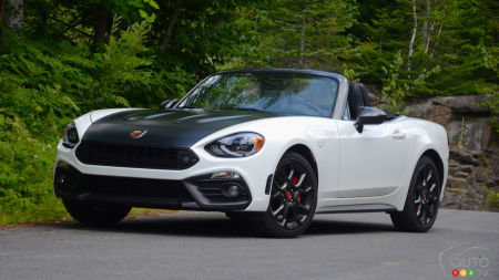 2019 Fiat 124 Abarth Review: When the Best You Got Is Borrowed…