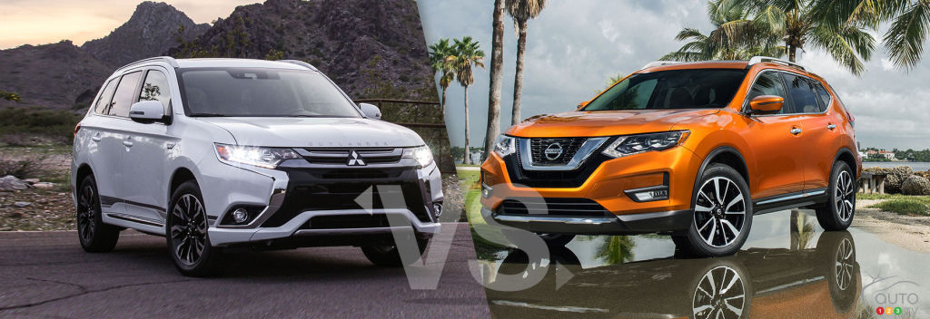 Comparison: 2019 Mitsubishi Outlander vs 2019 Nissan Rogue: Not their first rodeo