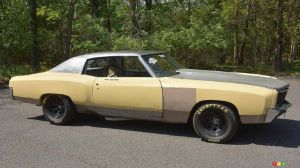 1971 Monte Carlo Used in Third The Fast and the Furious Movie for Sale