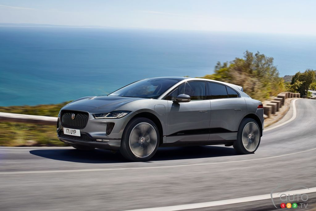 An SVR Version of the Jaguar I-Pace in the Works