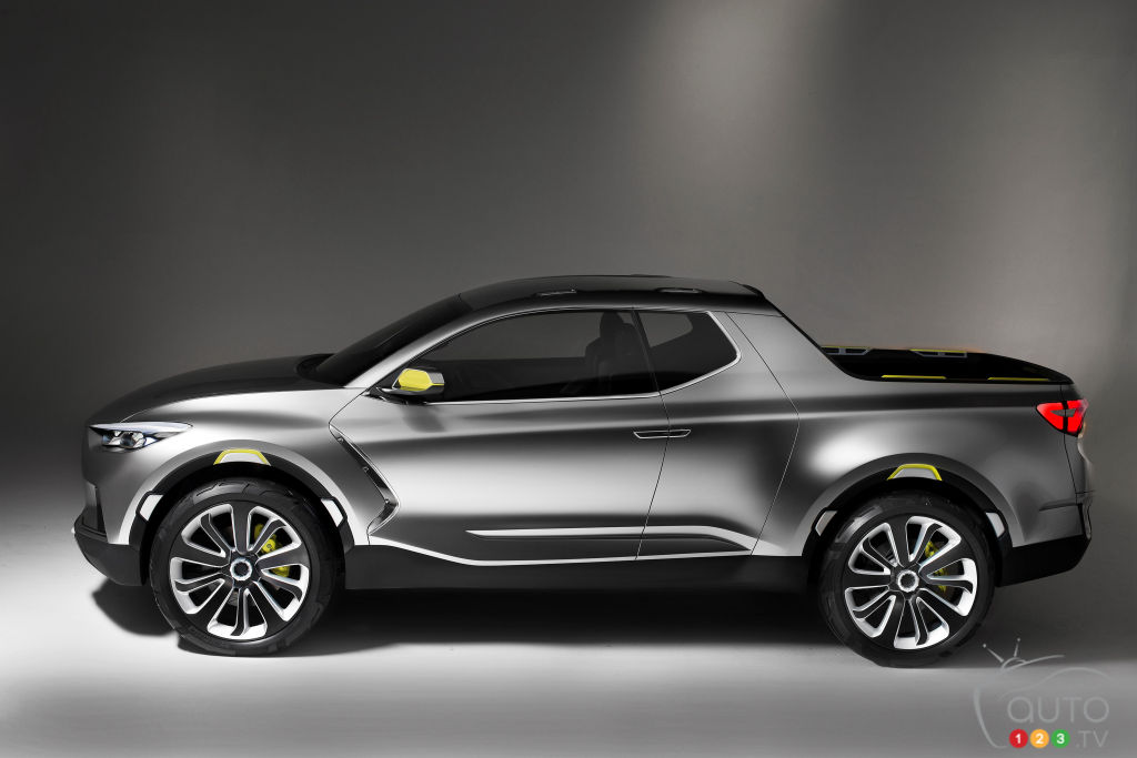 Hyundai's Santa Cruz Pickup Will Be Built on a True Truck Body