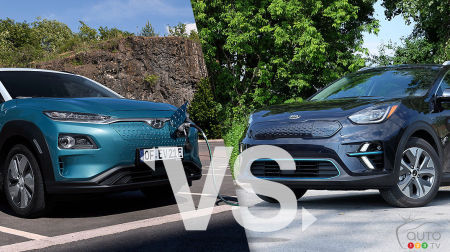 Comparison: 2019 Hyundai Kona Electric vs 2019 Kia Niro EV