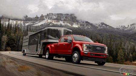 37,000-lb Towing Capacity for the 2020 Ford Super Duty