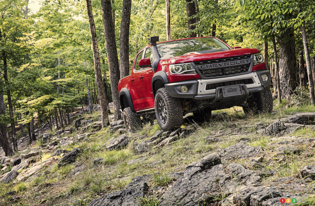 Size of Chevrolet Colorado ZR2 Bison Herd to Increase in 2020