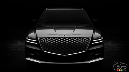 Genesis Unveils First Images of New GV80 SUV