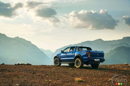 A Ford Ranger Raptor with V8 engine? Yes, But Not Here
