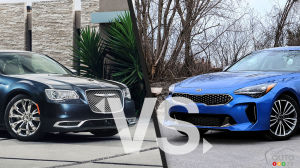 Comparison: 2019 Chrysler 300 vs 2019 Kia Stinger
