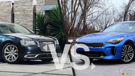 Comparaison : Chrysler 300 2019 vs Kia Stinger 2019
