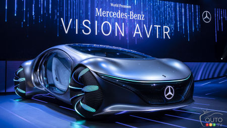 CES 2020: Here is the Very Cinematic Mercedes-Benz VISION AVTR