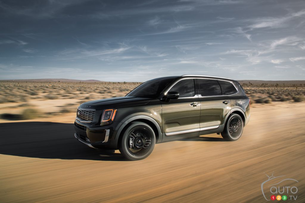 NACTOY 2020: Chevrolet Corvette, Jeep Gladiator and Kia Telluride Vehicles of the Year