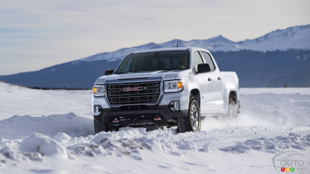 2021 GMC Canyon Will Come in AT4 Version