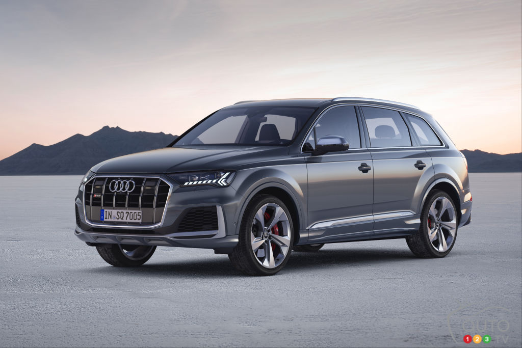 Audi SQ7 and SQ8 Coming to North America in Spring 2020